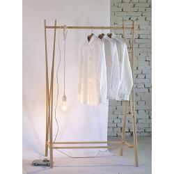 Kleiderständer Tra-Ra Zilio A&C beige, Designer Shin, Tomoko Azumi, 162x103x48 cmCairo.de