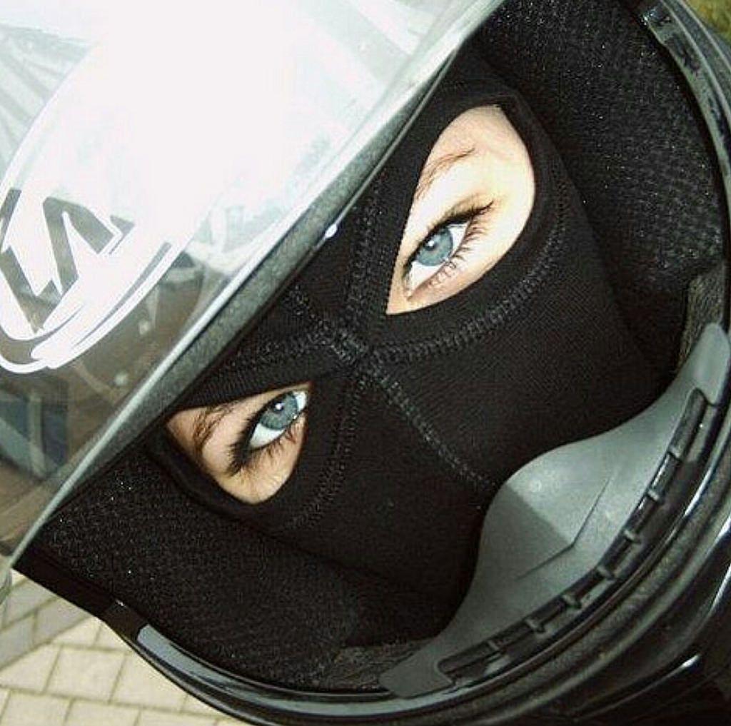 Https Flic Kr P V8gygo Two Hole Balaclava Helmet Girls Helmet Balaclava Biker Girl