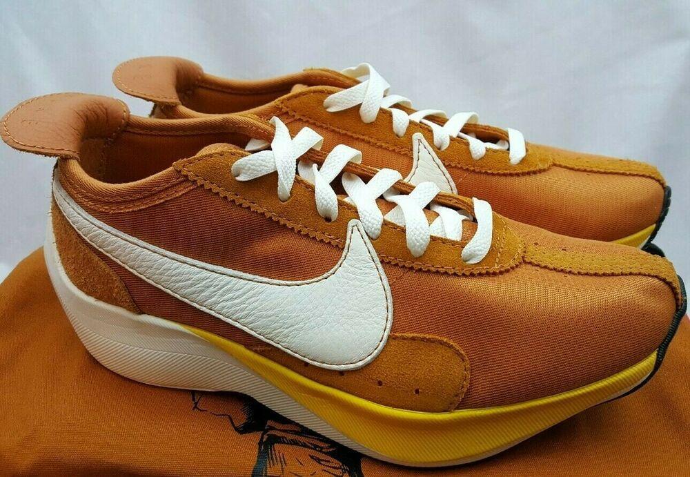 Nike Moon Racer Qs Amarillo Monarch Sail Running Shoes Bv7779 800 Size 6 5 Nike Runningshoes Running Shoes For Men Running Shoes Sneakers Running Shoes