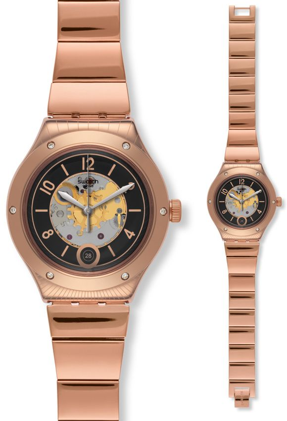 swatch rose gold - Google Search  b1d7224fe28