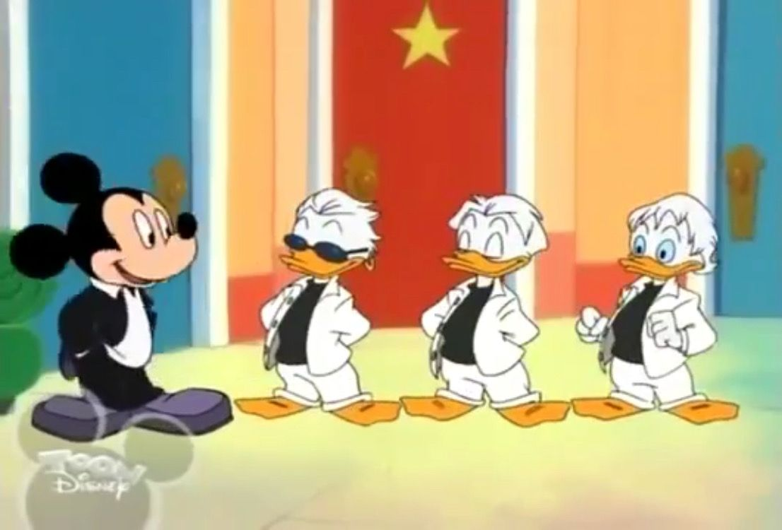 Andersines Album pin on huey, dewey and louie duck