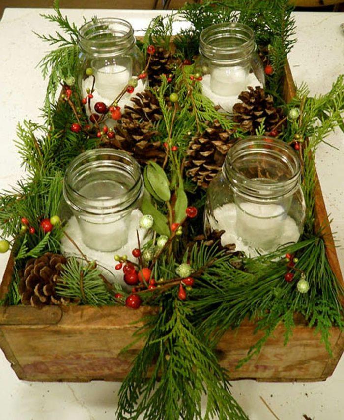 ▷ 1001+ Ideen für Weckgläser dekorieren zum Nachmachen #weihnachtsdekoglas