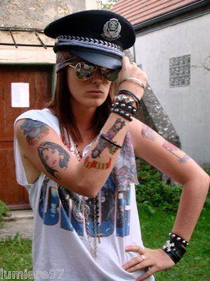 Axl Rose Tattoos Transfers
