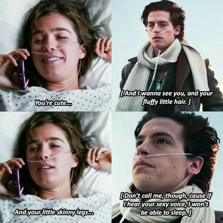 Five feet apart one of my favorite part film quotes