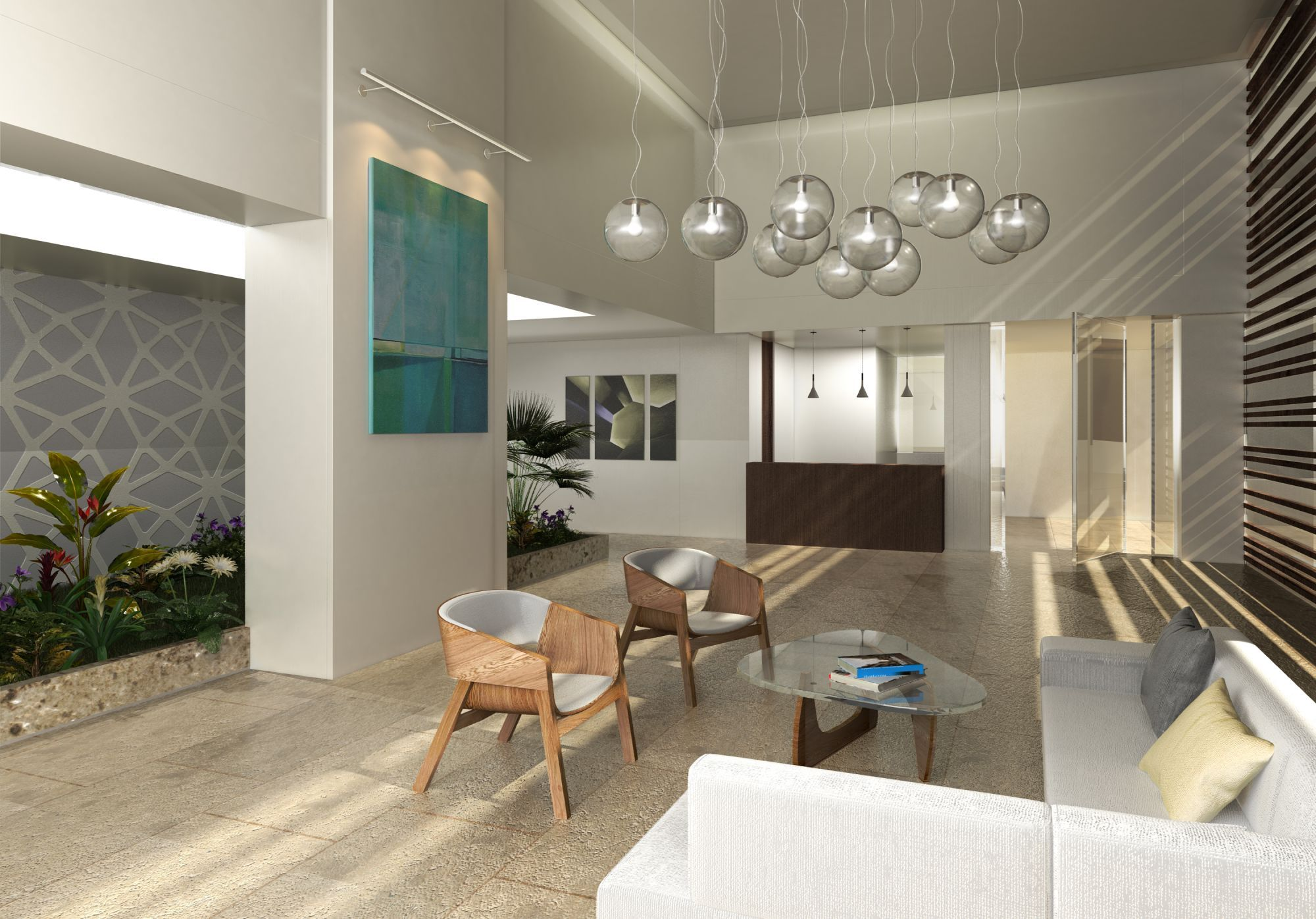 "Apartment Building Lobby Design Ideas richardson affordable apartments - the ""air lock"" entry lobby with"