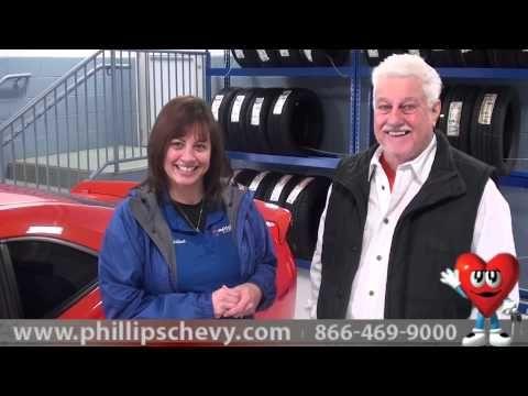 Christine Smrstik  Phillips Chevrolet Customer Testimonial - Service Department - Repair Maintenance - Chevy Dealer    https://www.youtube.com/user/PhillipsChevy#