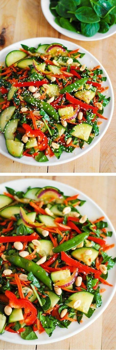 1001 ideas de recetas de ensaladas de verano frescas - Como cocinar judias verdes frescas ...