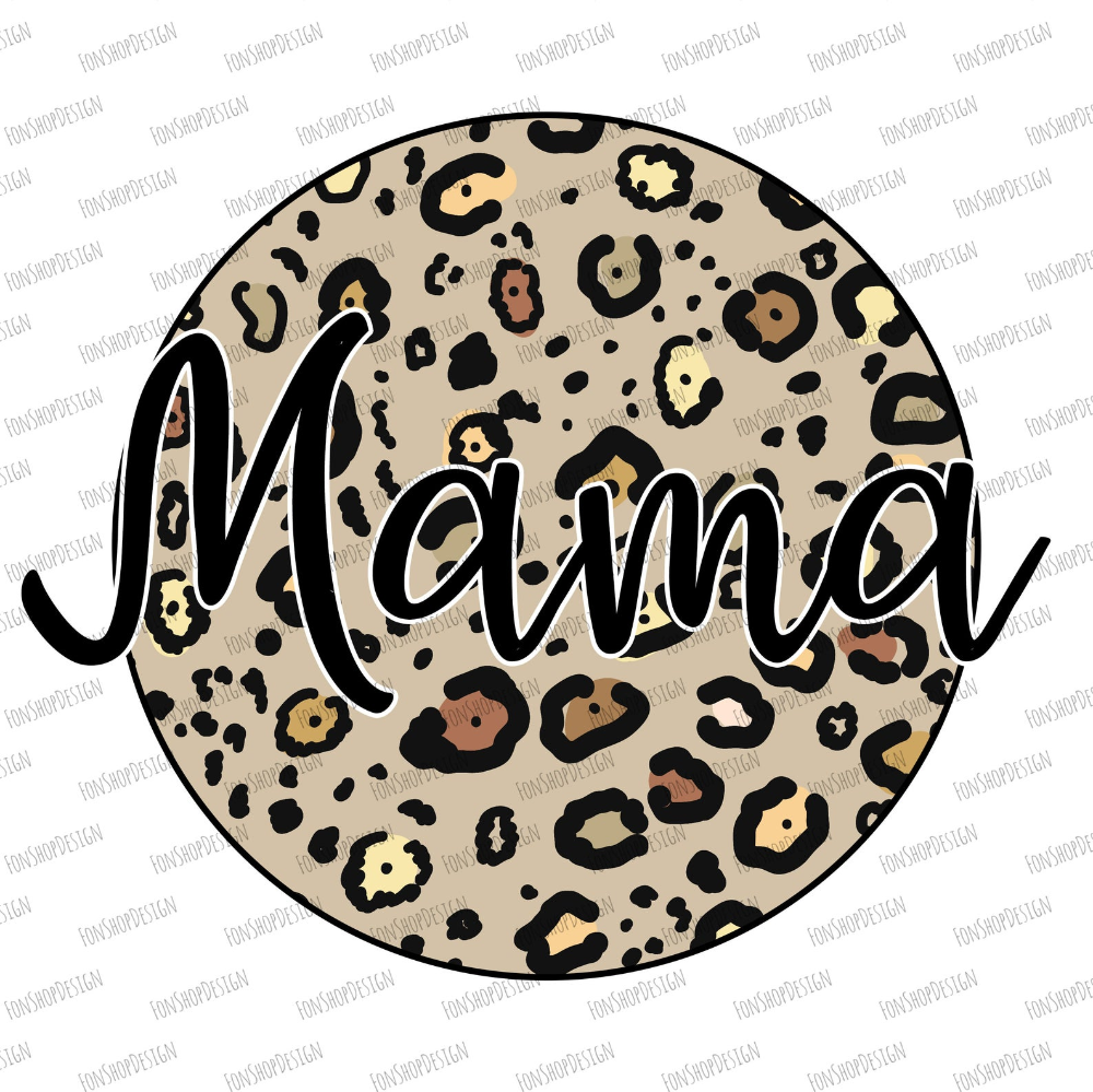Mama Life Cheetah PNG-Instant download-Sublimation graphics-PNG-Waterslide Printable-Clip Art-