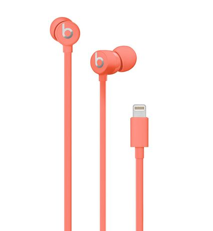 Beats By Dr Dre Urbeats3 Earphones With 3 5mm Plug Orange Beats Earphones Beats Earbuds Earphone