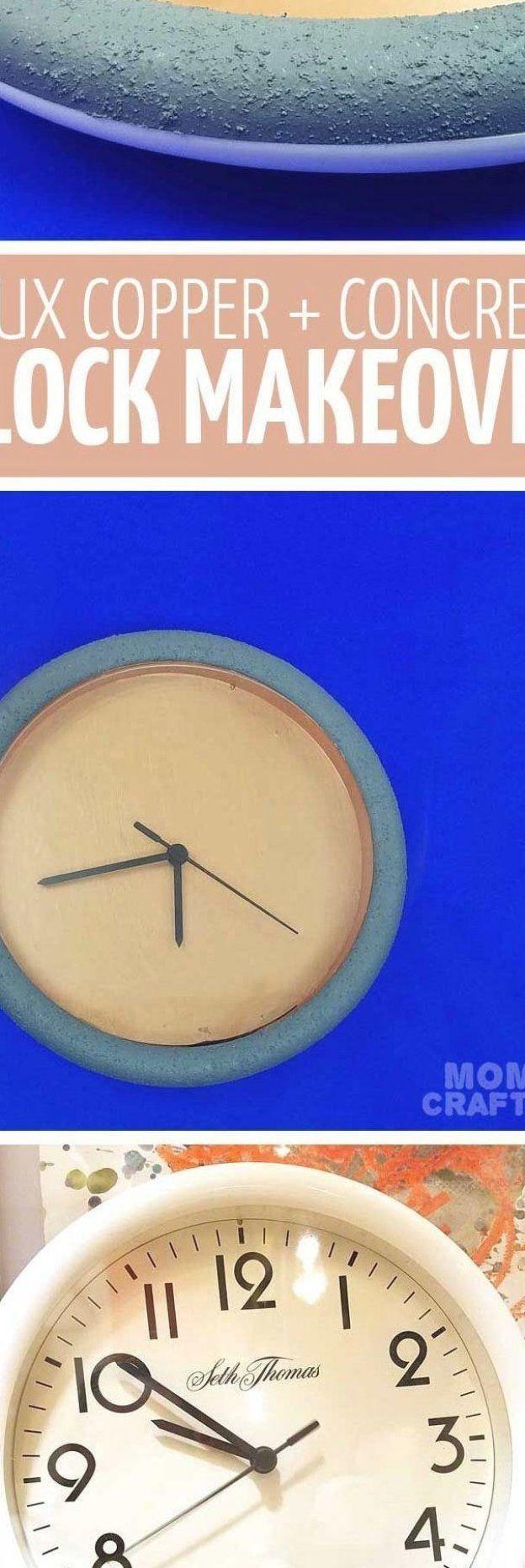#Clock #Minutes #Totally #Transform Spend ten minutes transforming an old plasti...