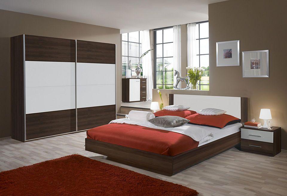 Wimex Schlafzimmer-Set mit Schwebetürenschrank (4-tlg) Jetzt - schlafzimmer komplett