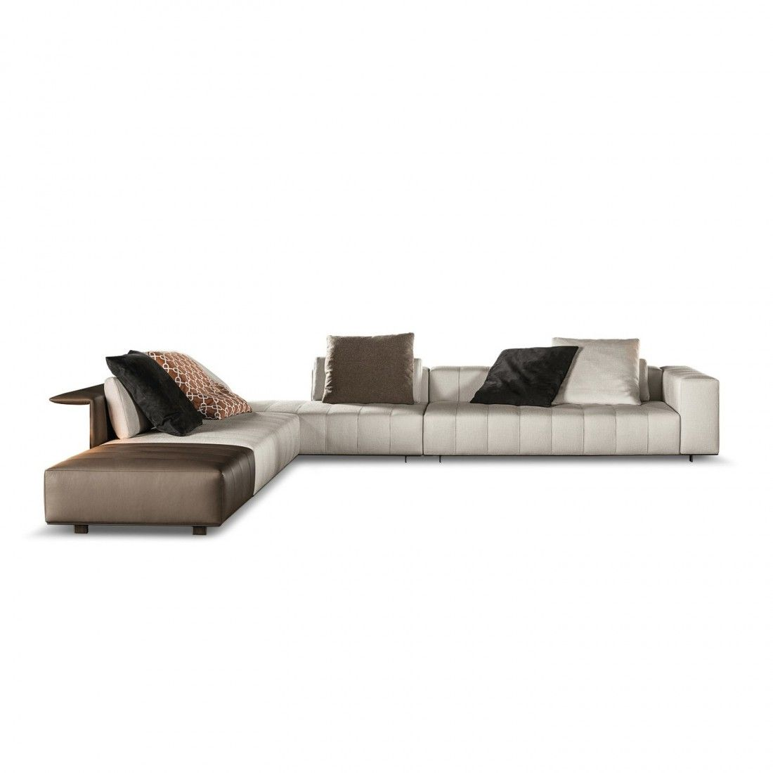 Freeman Tailor Minotti Minotti Sofa Chaise Lounge Sofa Sofa