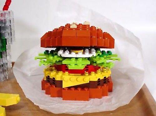 Another Lego burger | VetteLetters Hamburgers | Pinterest | Legos ...