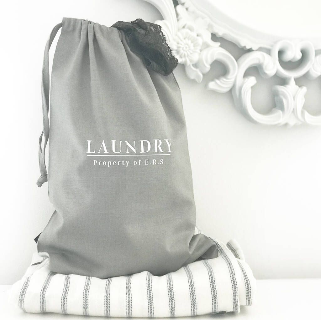 Personalised Travel Laundry Bag In 2020 Bags Fashion Cotton Bag