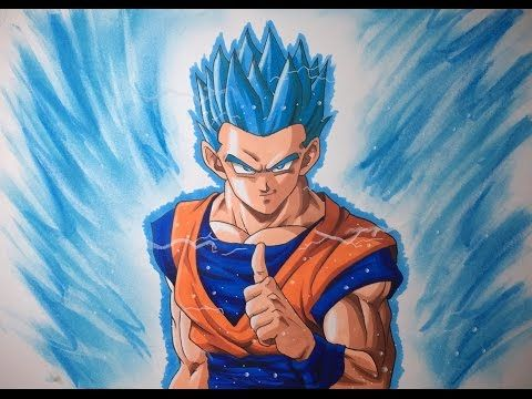Drawing Como Dibujar A Gohan Ssj Blue Dragonballsuper Come Back Youtube Dragones Dragon Ball Como Dibujar