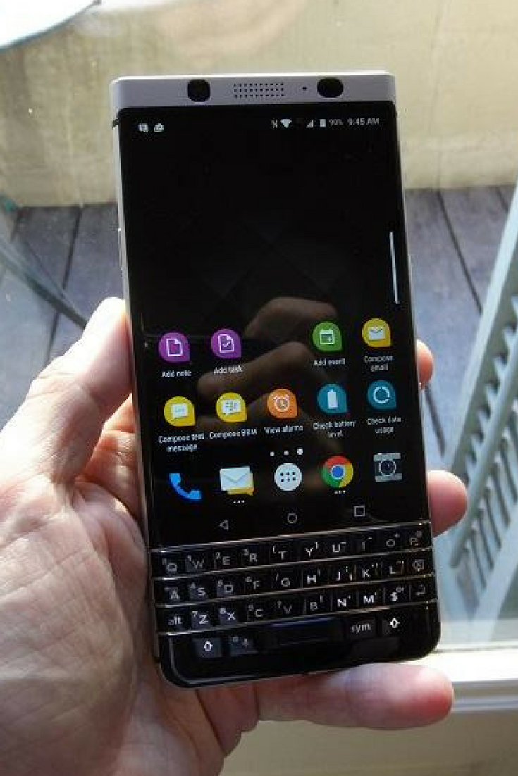 Hands On: BlackBerry 'Mercury' Becomes KeyOne | Mobile World