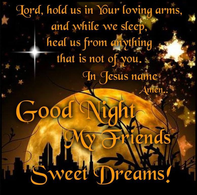 God Bless You All Good Night Angel Sisters Love In Christfrom My