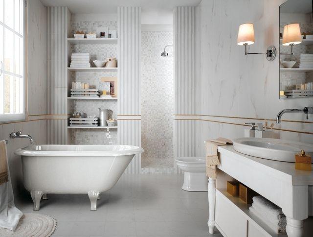 Carrelage salle de bains par Fap Ceramiche- 60 idées design Cosy