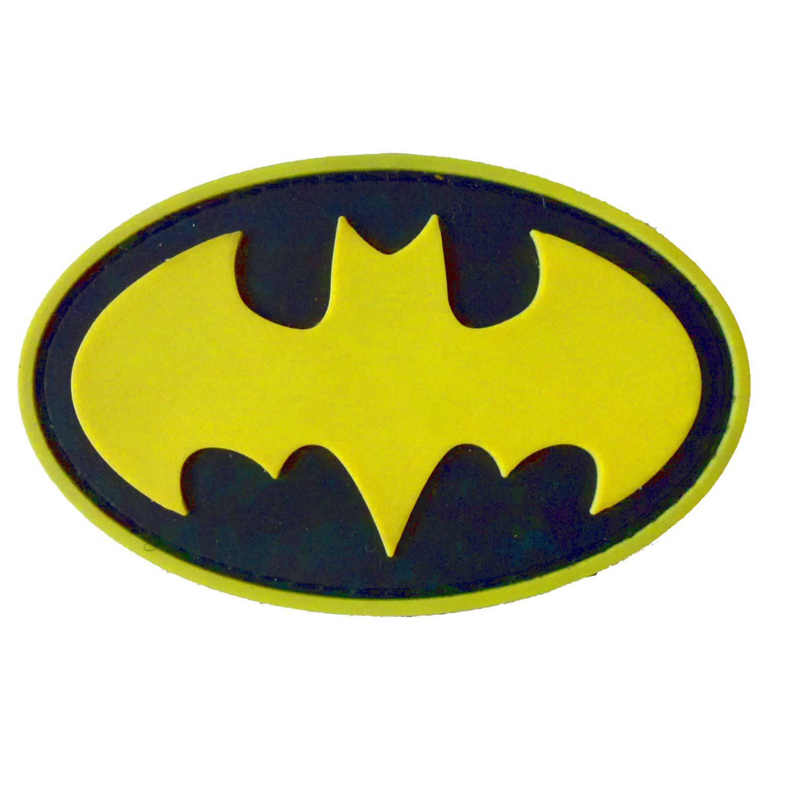 Batman Pvc Rubber 3d Velcro Patch Bat Morale Tactical Batman
