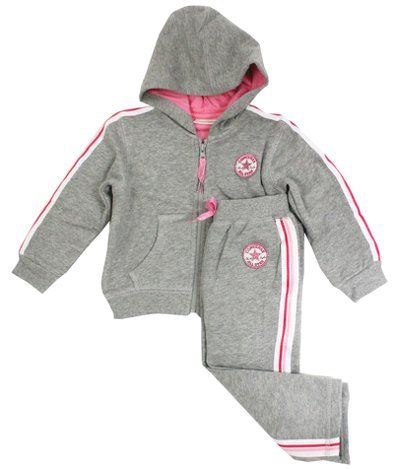 7f4e85a7528e Converse Baby Girl Chuck Patch Tracksuit - £29.99 3 - 24 mths ...