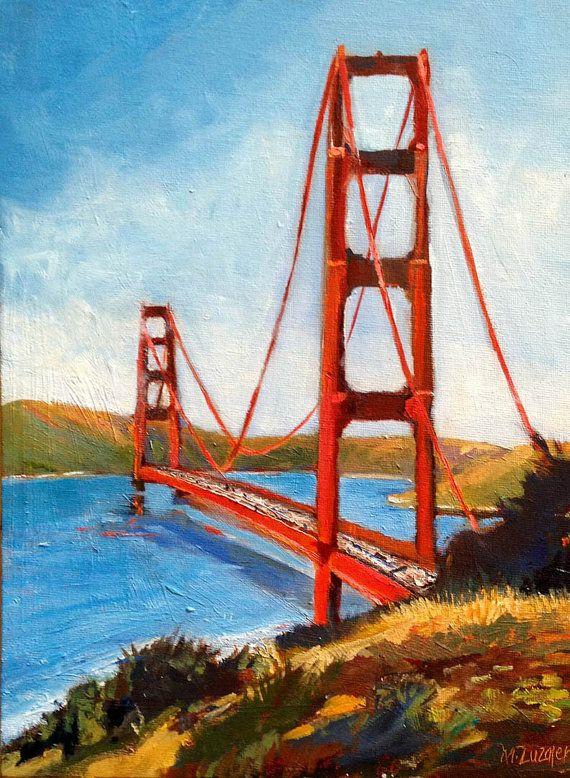 Golden Gate Bridge San Francisco Original by