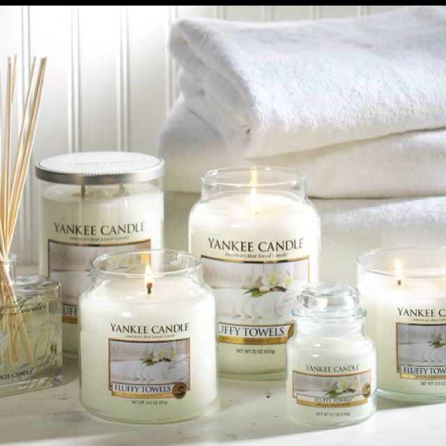 yankee candle fluffy towels my laundry room and sometimes bathroom scent scents for every. Black Bedroom Furniture Sets. Home Design Ideas