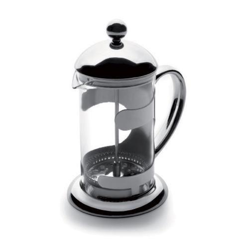 French Press Coffee Pot 600ml Vidrio de acero inoxidable port/átil French Press Coffee Cup Pot /Émbolo Tetera