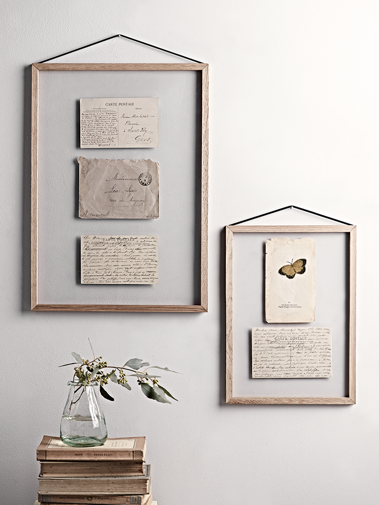 Oak Hanging Frames Photo Frames Decorative Home Indoor Living Hanging Frames Hanging Glass Frames Frame