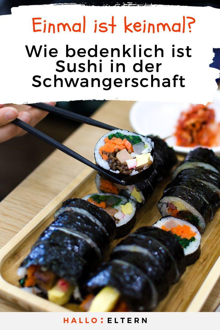 Vegetarisches Sushi Schwanger