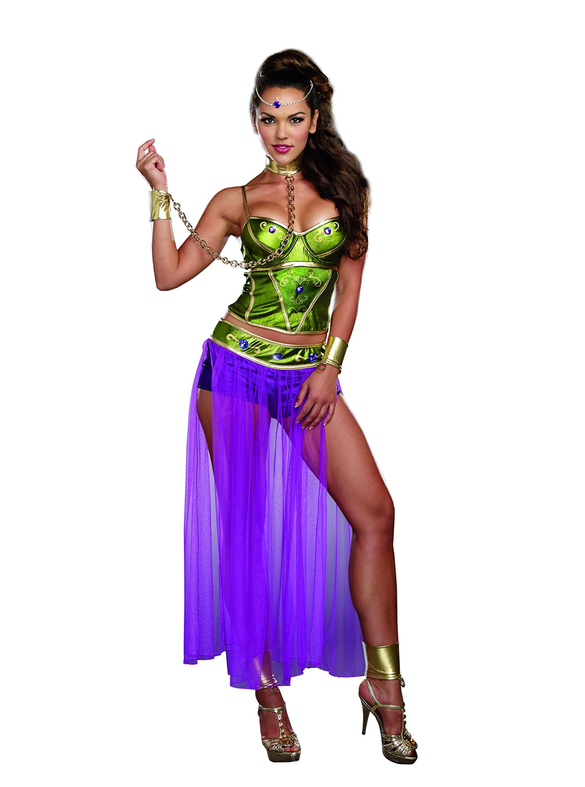 Dreamgirl Women\'s Sexy Galactic, Historical Beauty Costume, Slave ...