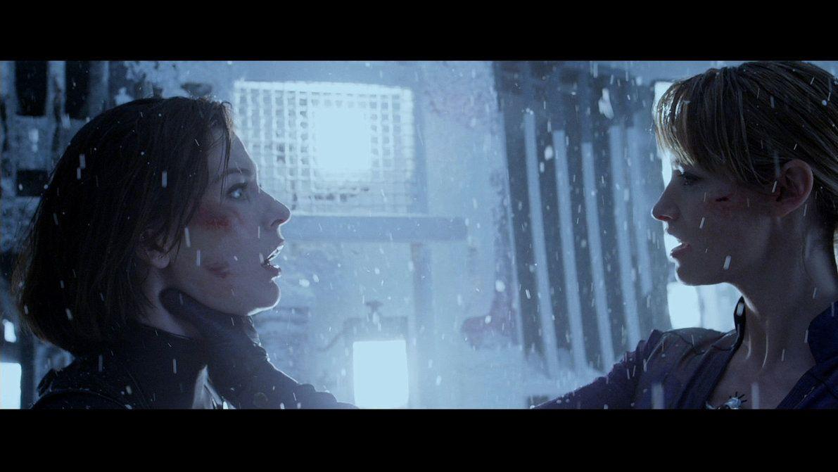Resident Evil Retribution Alice And Jill Milla Jovovich