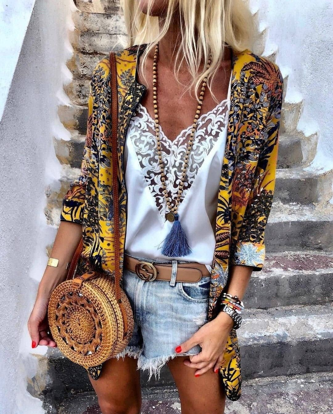 Outfit Boho Chic Style