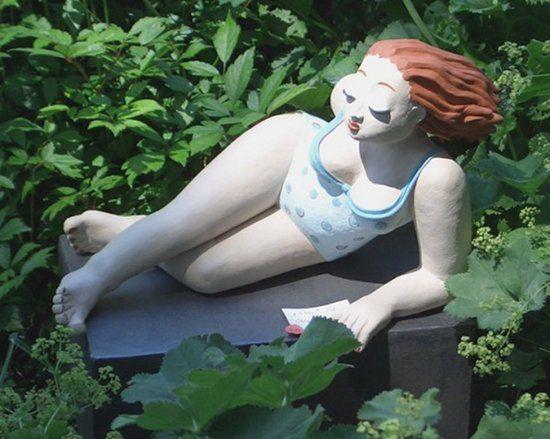 Gartenfigur Eva von Margit Hohenberger