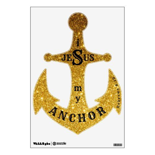 Anchor wallart wall decal