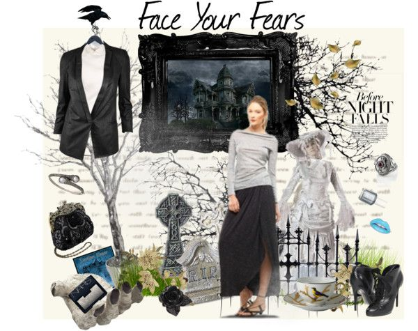 """""""Face Your Fears"""" by timetraveling ❤ liked on Polyvore"""
