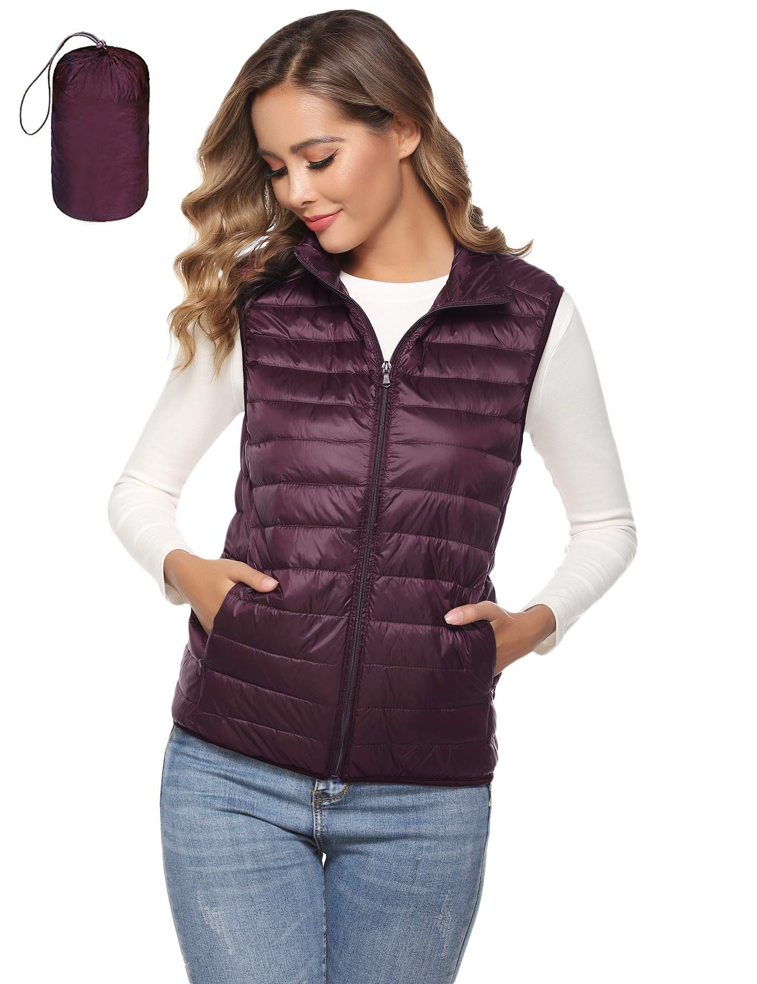12++ Thin down vest womens inspirations