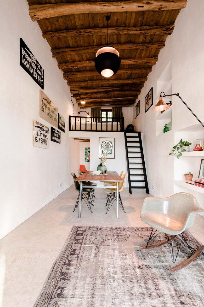 200 Jahre alter Ibiza-Stall wird rustikales Gästehaus   Rustikal ...