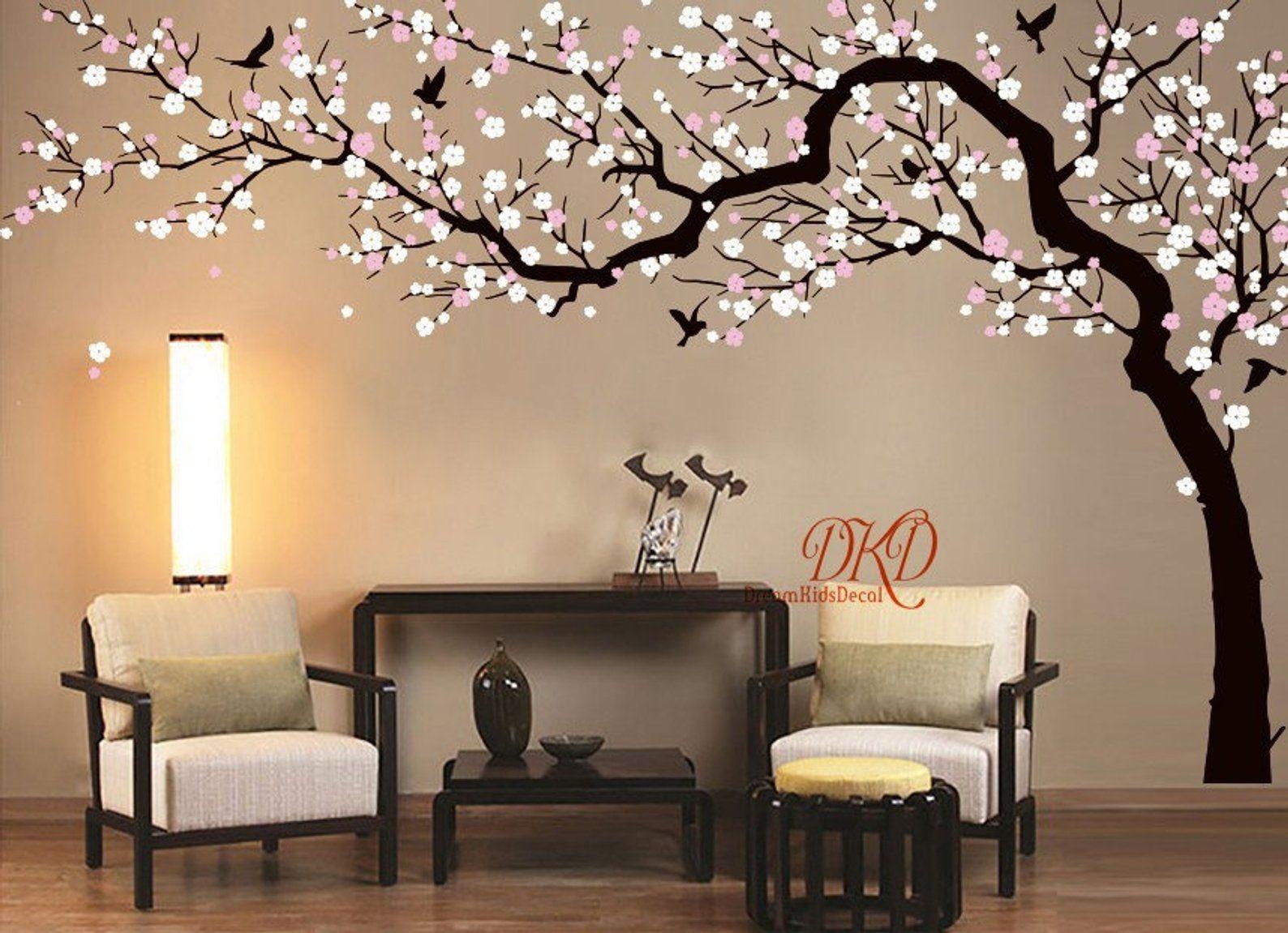 Cherry Pink Blossom Tree Large Flower