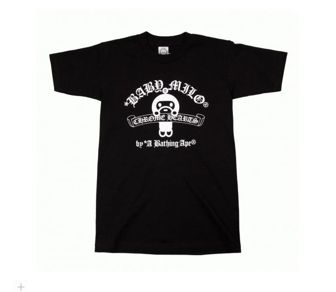 4f39997b Chrome Hearts BAPE Stuffed Baby Milo Toy White T-shirt $516.00 $136.72