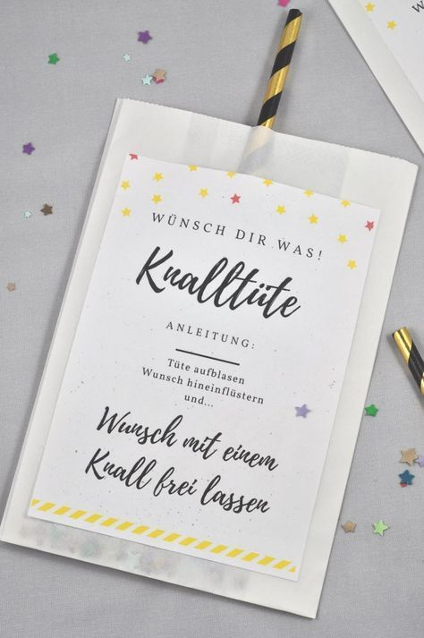 Knalltüte DIY-Idee für die Silvesterparty – little. red. temptations. – Boda fotos