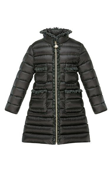 4293765dc0a2 Moncler  Ernestine  Quilted Long Down Coat (Little Girls) available ...