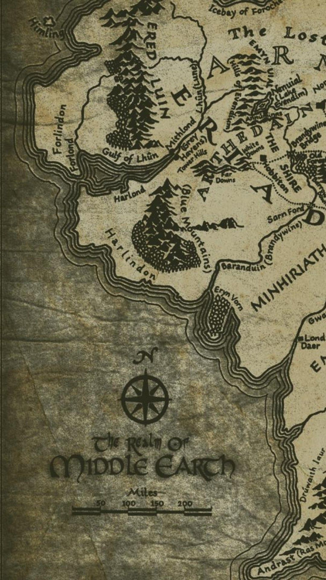 Lord Of The Rings Map Iphone Wallpaper In 2020 The Hobbit Lord Of The Rings Middle Earth