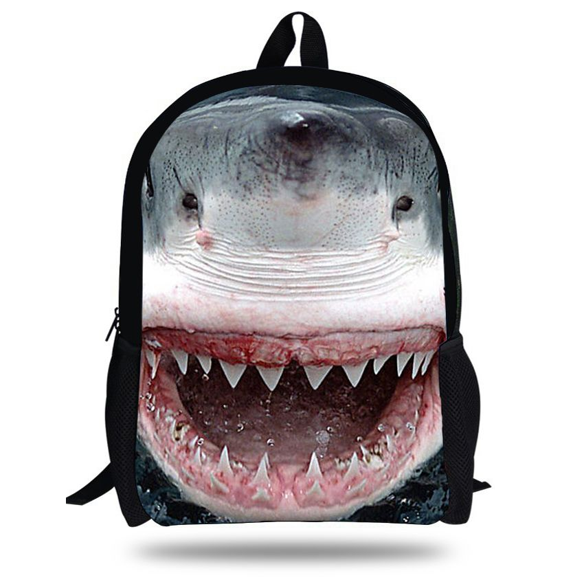 Cheap Price Guarantee16-inch Animal Bag Shark Backpack Animal ...