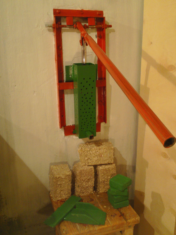 как в домашних условиях сделать топливные брикеты
