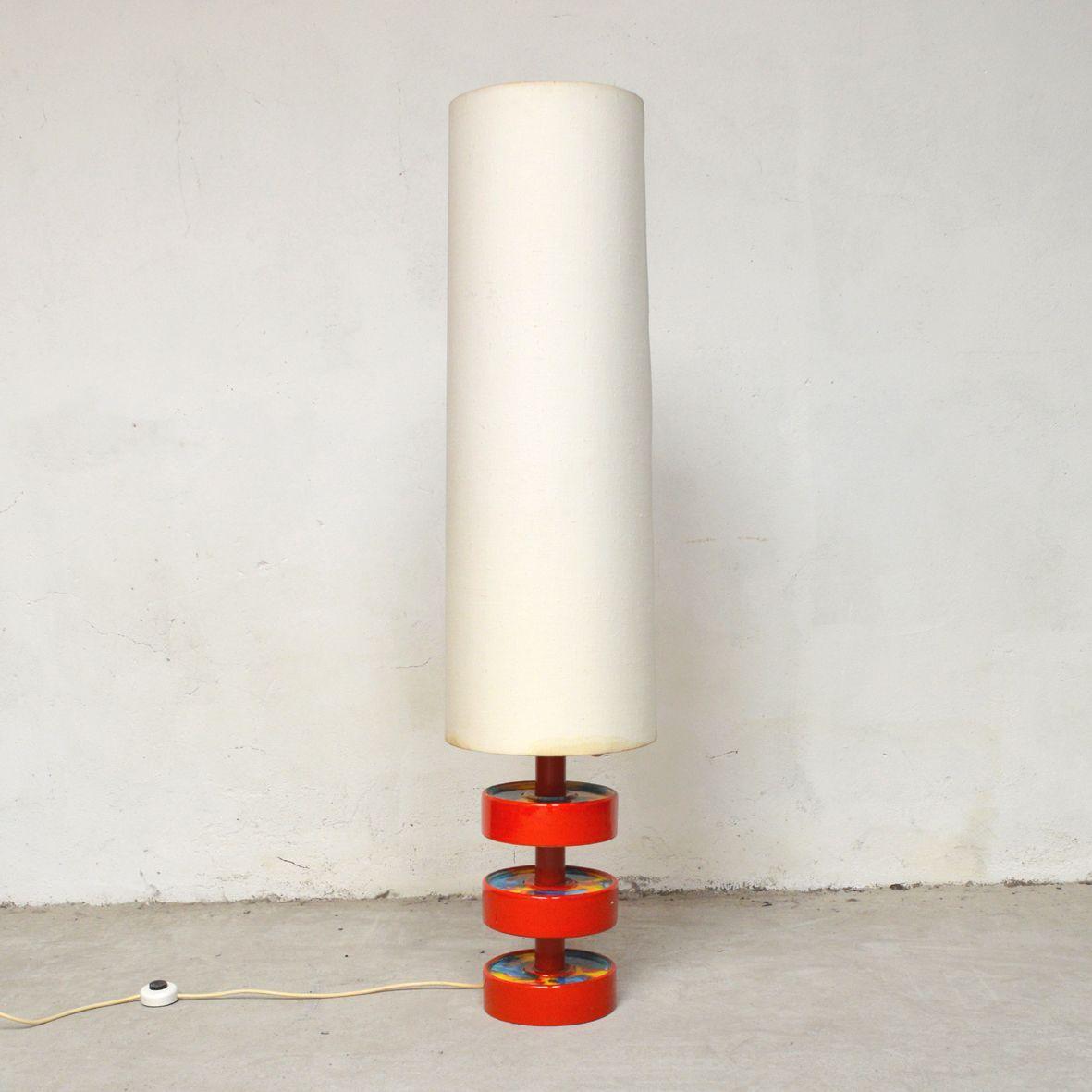 Led Deckenfluter Dimmbar Farbwechsel Stehlampen Retro Design