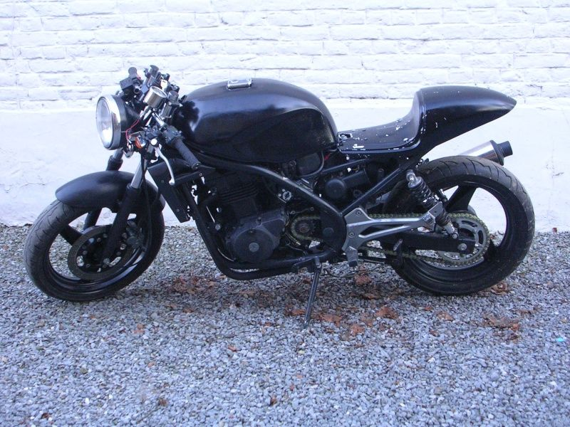Kawasaki Er 500 Cafe Racer Motorrad Bild Idee