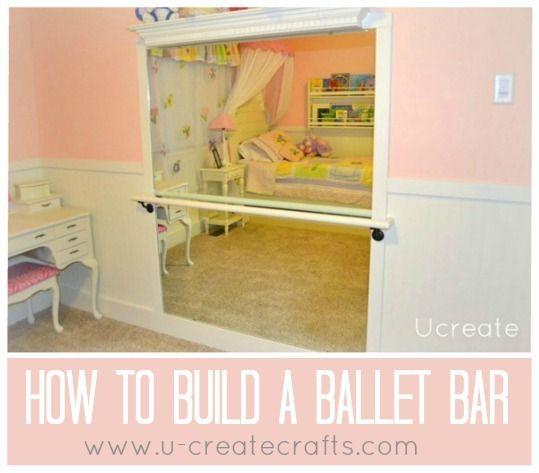 Diy Ballet Bar U Create Ballet Bar Ballet Room Ballet Bedroom