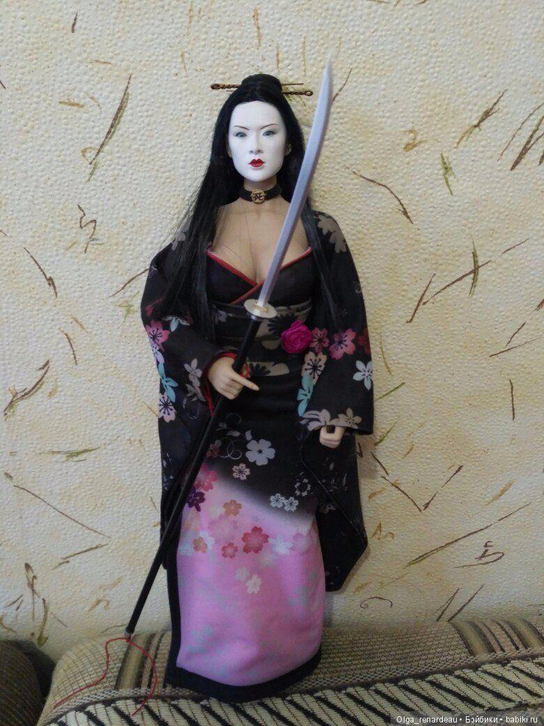 Шикарная phicen гейша с двумя головами / Fashion dolls ...