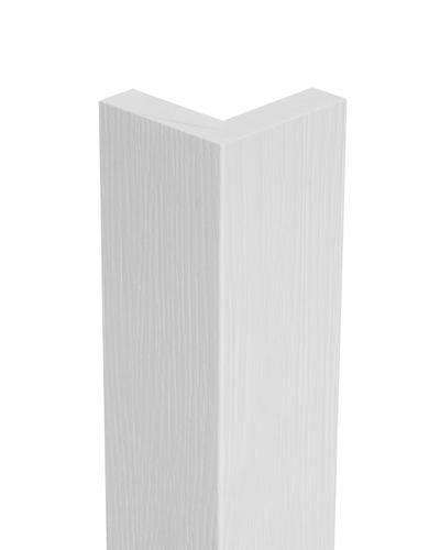 1 X 3 1 2 X 10 White Textured Outside Corner Pvc Trim Board Pvc Trim Pvc Trim Boards Trim Board