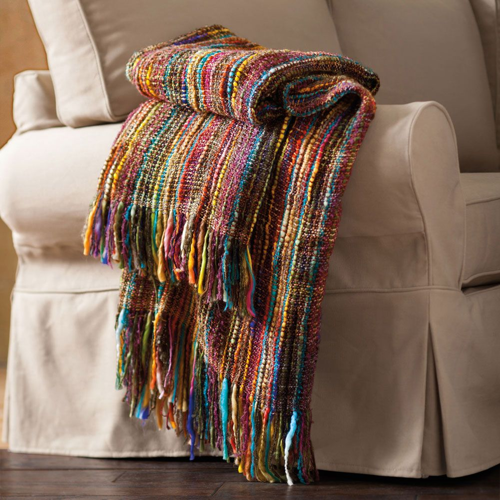 Colorful Throw Blankets Gorgeous Chunky Knit Throw At Signals  Hx4097  Gifts  Pinterest  Chunky Inspiration